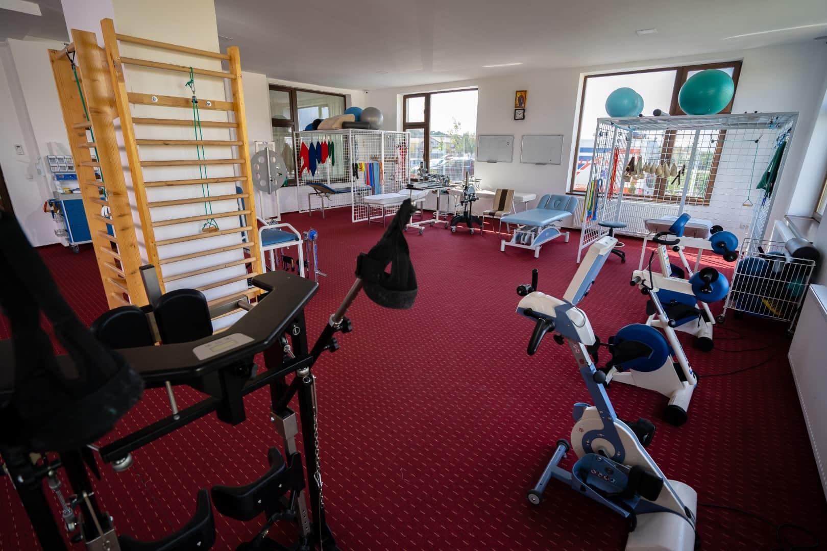 recuperare medicala sala exercitii